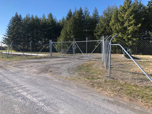 Security Fence and Gate